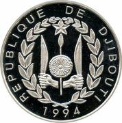 """100 Francs (""""Bateau"""") – obverse"""