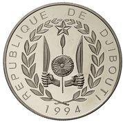 100 Francs (World Cup 1994) – obverse