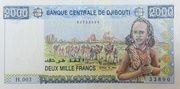 2 000 Francs – obverse