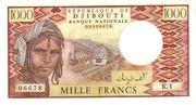 1,000 Francs – obverse