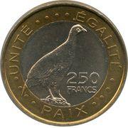250 Francs – reverse
