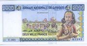 2000 Franc – obverse