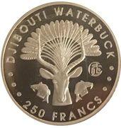250 Francs (Antelope) – reverse