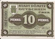 10 Pfennig (Sparkasse) – obverse