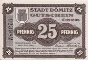 25 Pfennig (Sparkasse) – obverse