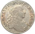 ½ Ecu - Anne-Marie-Louise d'Orléans – obverse