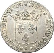 ½ Ecu - Anne-Marie-Louise d'Orléans – reverse