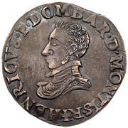 1 Teston - Henri II. de Montpensier – obverse