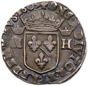 1 Teston - Henri II. de Montpensier – reverse