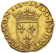 Ecu d'Or - Louis II. de Bourbon-Montpensier – obverse