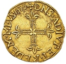 Ecu d'Or - Louis II. de Bourbon-Montpensier – reverse