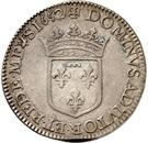 1 Ecu - Gaston d'Orléans – reverse