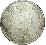 ½ Ecu - Gaston d'Orléans – obverse