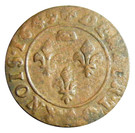 Denier Tournois - Gaston (7th type) – reverse