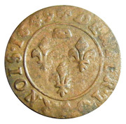 Denier Tournois - Gaston d'Orléans (7th type) – reverse
