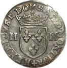 ¼ Ecu - Henri II. de Bourbon-Montpensier – obverse