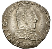 ½ Teston - Henri II. de Bourbon-Montpensier – obverse
