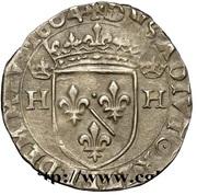 ½ Teston - Henri II. de Bourbon-Montpensier – reverse