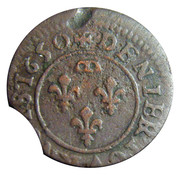 Denier Tournois - Gaston (9th type) – reverse