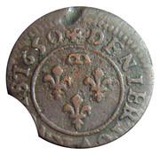 Denier Tournois - Gaston d'Orléans (9th type) – reverse