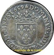 1/12 Ecu - Anne Marie-Louise d'Orléans – reverse