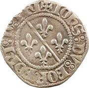 1 Denier - Jean II. de Bourbon – obverse