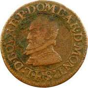 Double Tournois - Louis II (1st type) – obverse