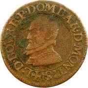 Double Tournois - Louis II. de Bourbon-Montpensier (1st type) – obverse