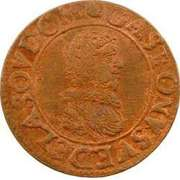 Double Tournois - Gaston (8th type) – obverse