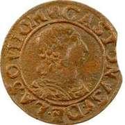 Double Tournois - Gaston d'Orléans (12th type) – obverse