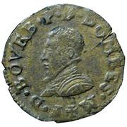 Denier Tournois - François II (3rd type) – obverse