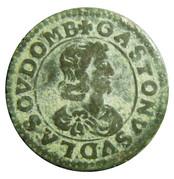 Double Tournois - Gaston d'Orléans (16th type) – obverse