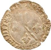 1 Denier - Pierre II. de Bourbon – obverse