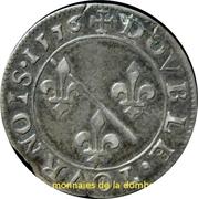 Double Tournois - Louis II. de Bourbon-Montpensier (Silver pattern strike) – reverse