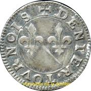 Denier Tournois - Louis II. de Bourbon-Montpensier (Silver pattern strike) – reverse