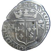 1 Douzain - Gaston d'Orléans and Anne-Marie-Louise d'Orleans -  obverse