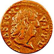 Denier Tournois - Gaston d'Orléans (12th type) – obverse