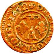 Denier Tournois - Gaston d'Orléans (13th type) – reverse