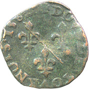 Double Tournois - Louis II. de Bourbon-Montpensier (2nd type) – reverse