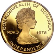 300 Dollars - Elizabeth II (Papal Visit) – obverse