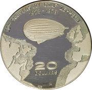 20 Dollars - Elizabeth II (Graf Zeppelin) – reverse