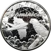 2 Dollars - Elizabeth II (Sisserou Parrot) – reverse