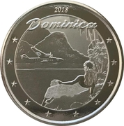 2 Dollars - Elizabeth II (Nature Isle) -  reverse