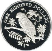 100 Dollars - Elizabeth II (Imperial Parrots) -  reverse
