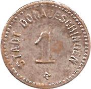 1 Pfennig - Donaueschingen – obverse