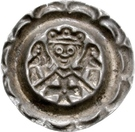 1 Brakteat - Friedrich II. – reverse