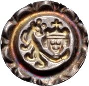 1 Brakteat - Friedrich II – reverse