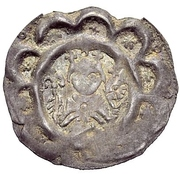 1 Dünnpfennig - Heinrich VI. – obverse