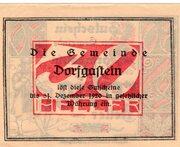 30 Heller (Dorfgastein) – reverse