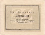 20 Heller (Dorfgastein) – reverse
